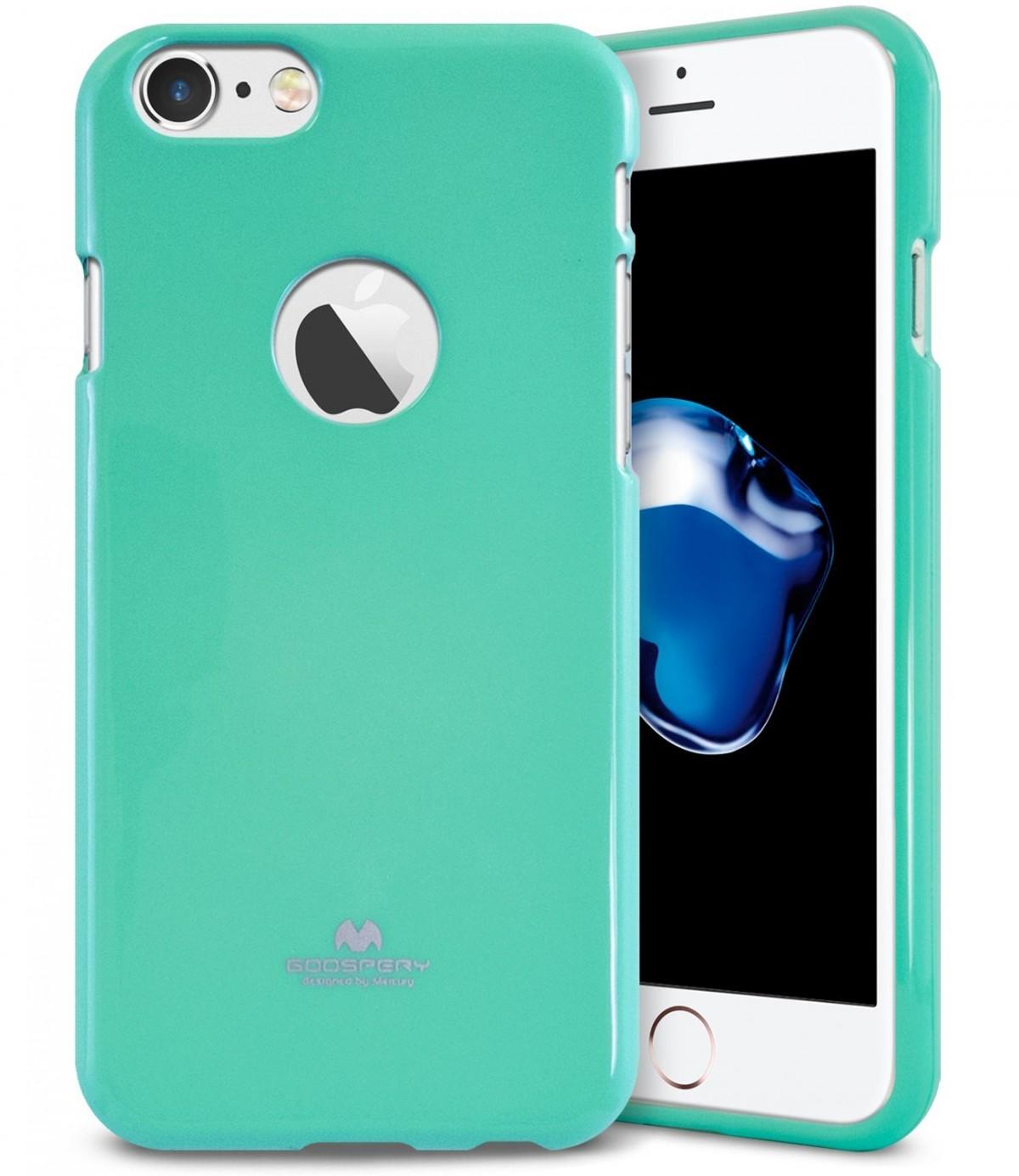 Pouzdro Goospery Mercury Jelly Case Apple iPhone 8/7 - Mint