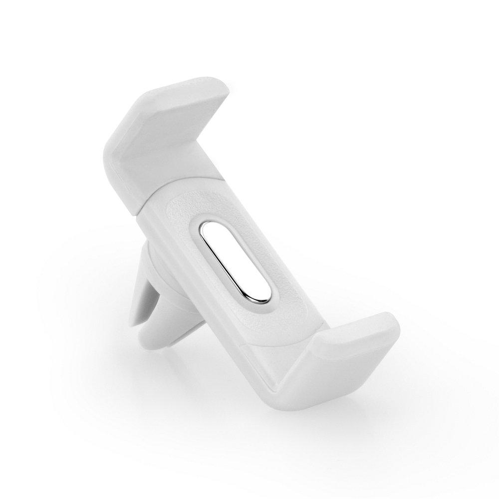 Držák na mobil BASIC do mřížky ventilace - Bílý