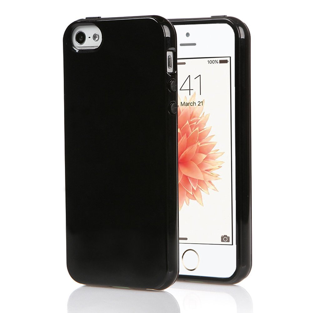 Obal Jet Black pro Apple iPhone SE / 5s / 5