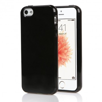 Kryt Jet Black pro Apple iPhone SE / 5s / 5