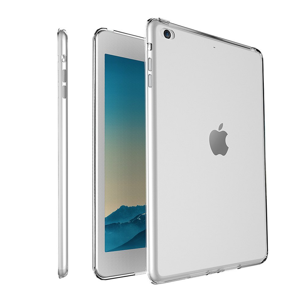 Silikonový průhledný obal / kryt pro Apple iPad mini / mini 2 / mini 3 (čirý)