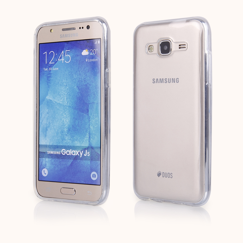 Silikonový obal / kryt Goospery Mercury pro Samsung Galaxy J5, čirý