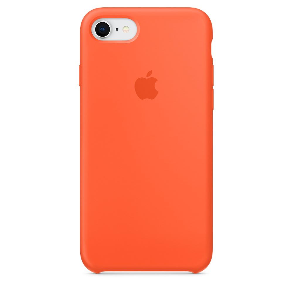 Pouzdro Apple iPhone 7/8 Silicone Case Spicy Orange