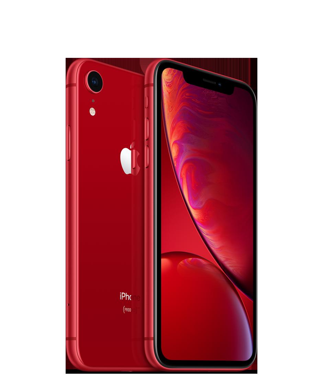 Apple iPhone XR - 256GB, červená