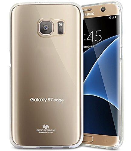 Silikonový obal / kryt Jelly Mercury pro Samsung Galaxy S7 Edge, čirý