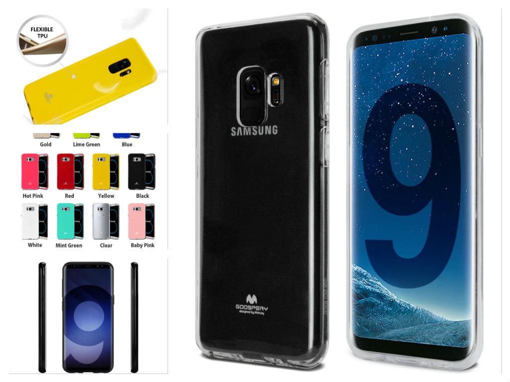 Silikonový obal / kryt JELLY Case od Goospery Mercury na Samsung Galaxy S9