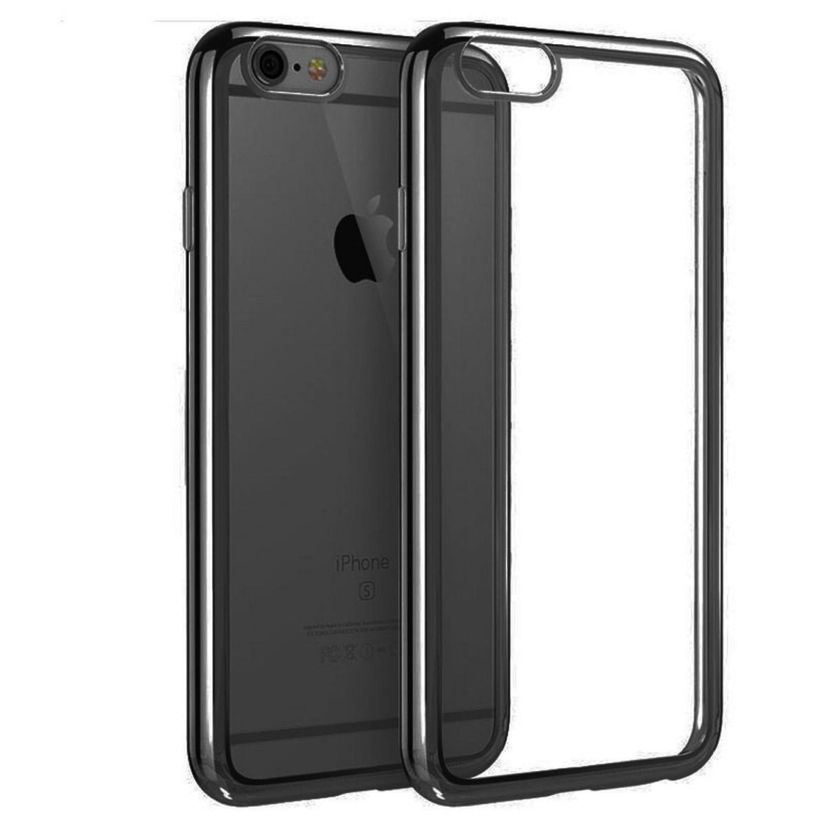 Elegantní obal / kryt RING pro iPhone SE / 5s / 5 - Černý (black)