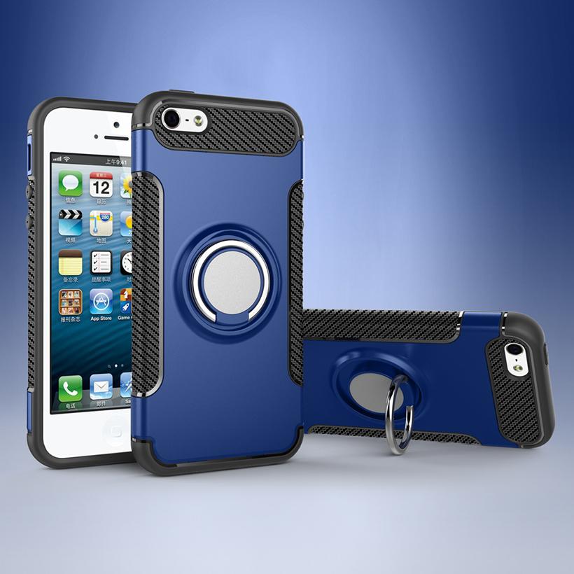 Pouzdro iMore Magneto na iPhone SE/5S/5 - Oceánsky modré