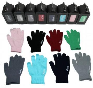 Chytré rukavice na dotykový displej iGlove (pánské / dámské)