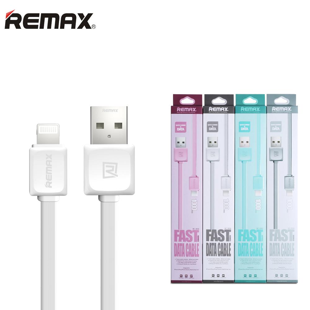 Kabel REMAX Fast s Lightning konektorem 1m, růžový