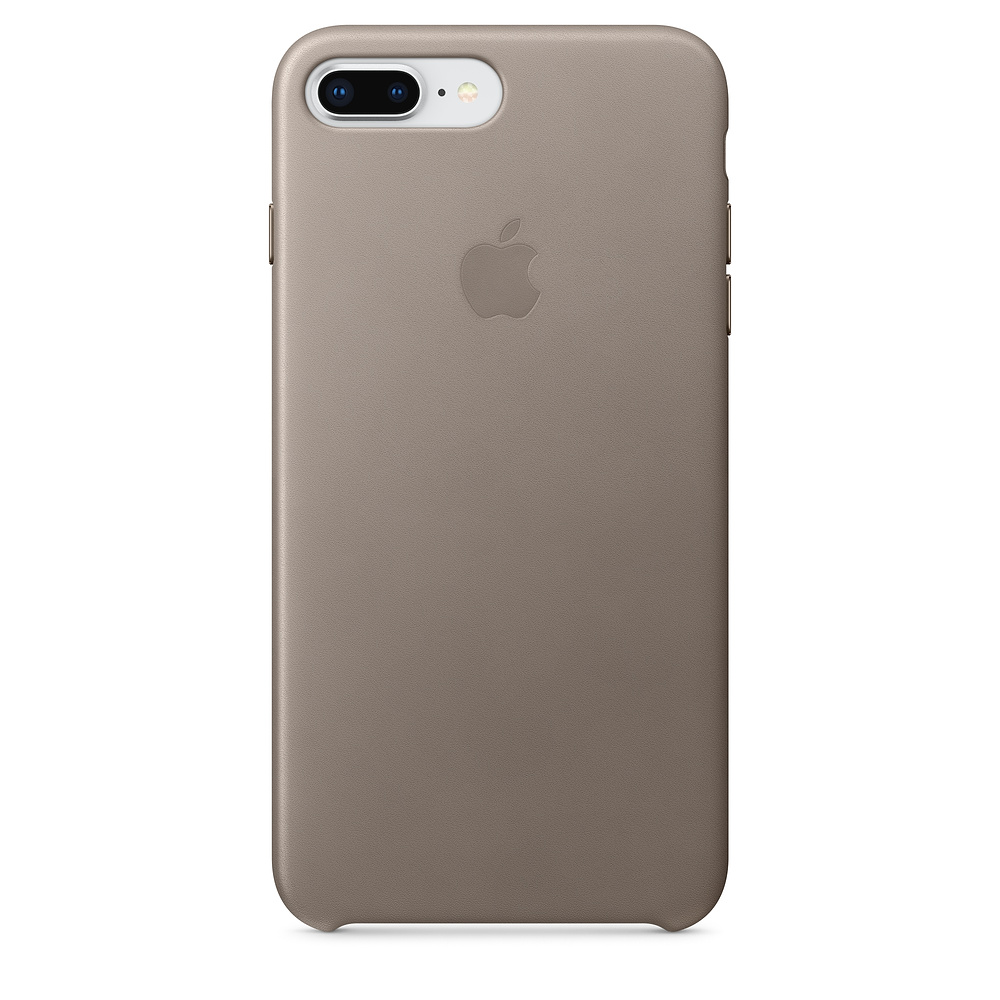 Pouzdro Apple Leather Case iPhone 8 Plus / 7 Plus - kouřové