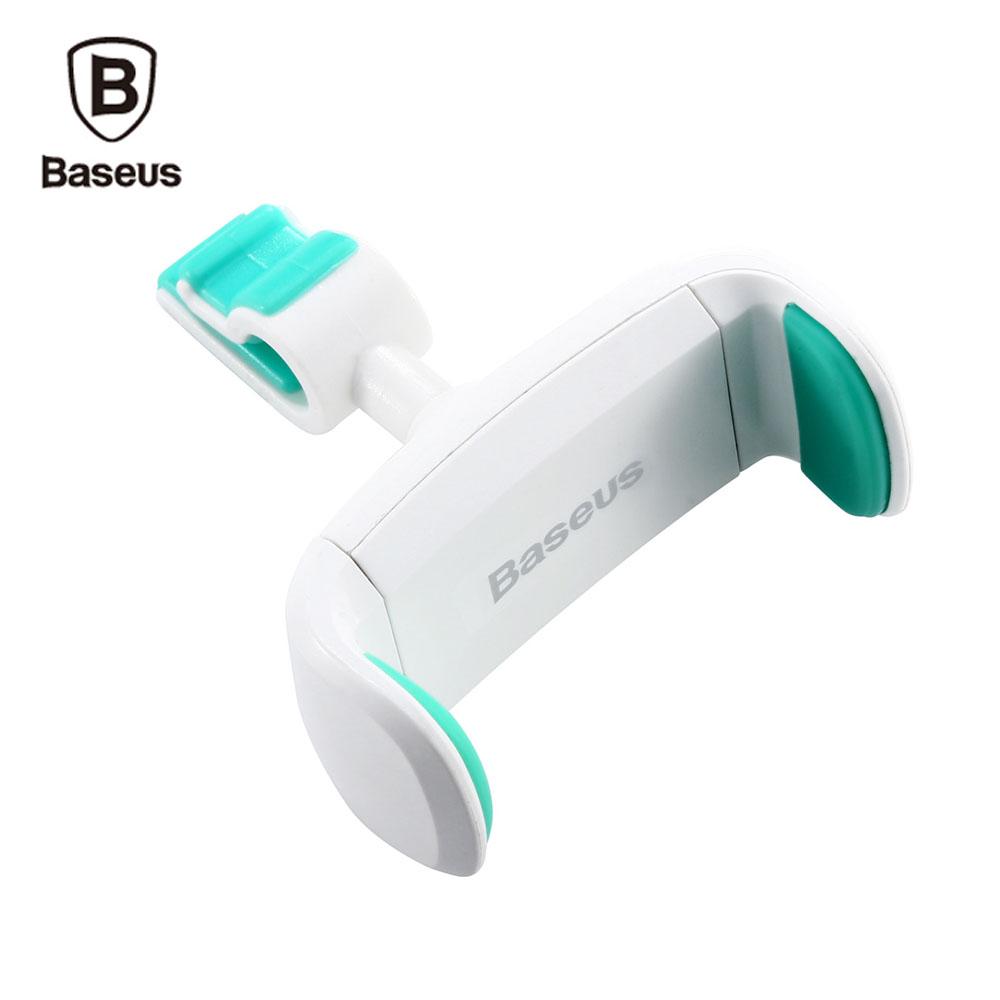 Univerzální držák Baseus do mřížky ventilace auta - Bílý