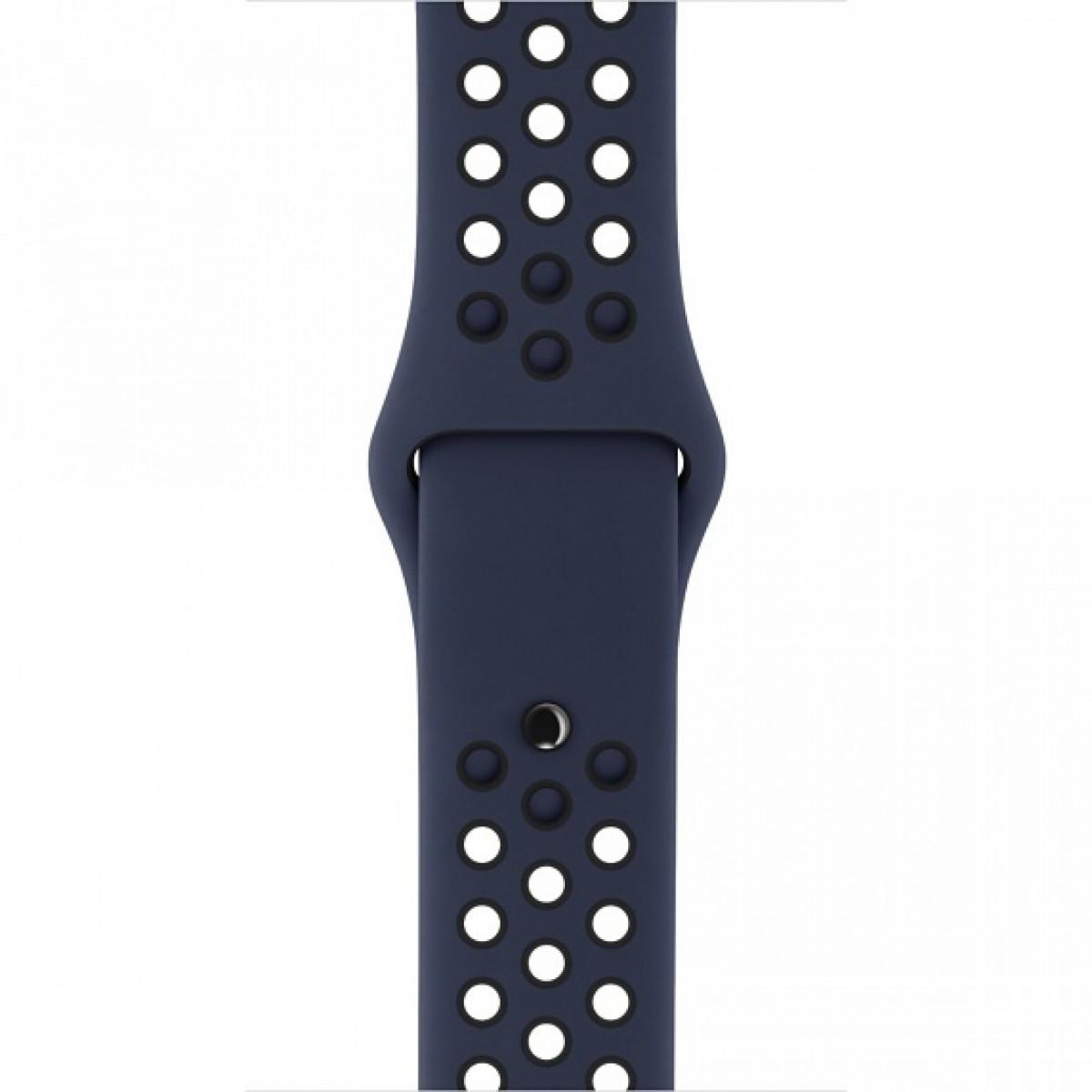Řemínek SPORT pro Apple Watch Series 3/2/1 38mm - Půlnočně modrý/Černý