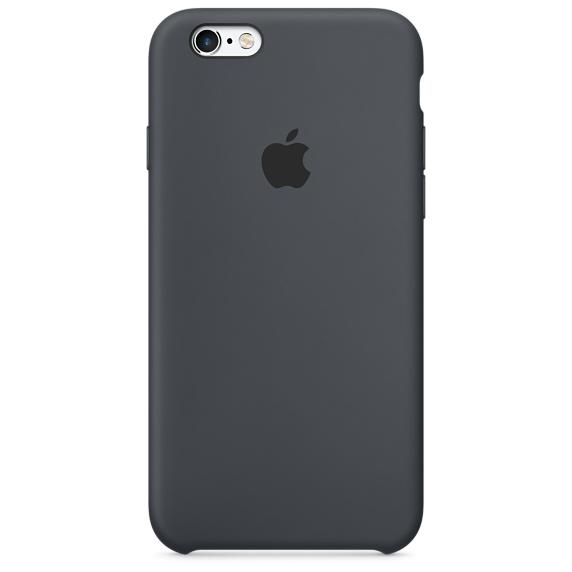 Pouzdro Apple silikonové iPhone 6/6s MKY02ZM/A uhlově šedé