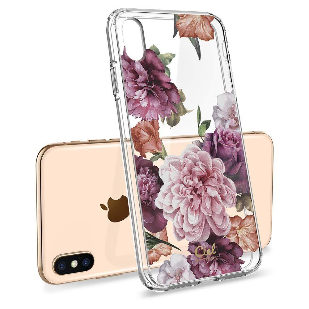 Pouzdro SPIGEN Ciel iPhone XS MAX - Rose Floral