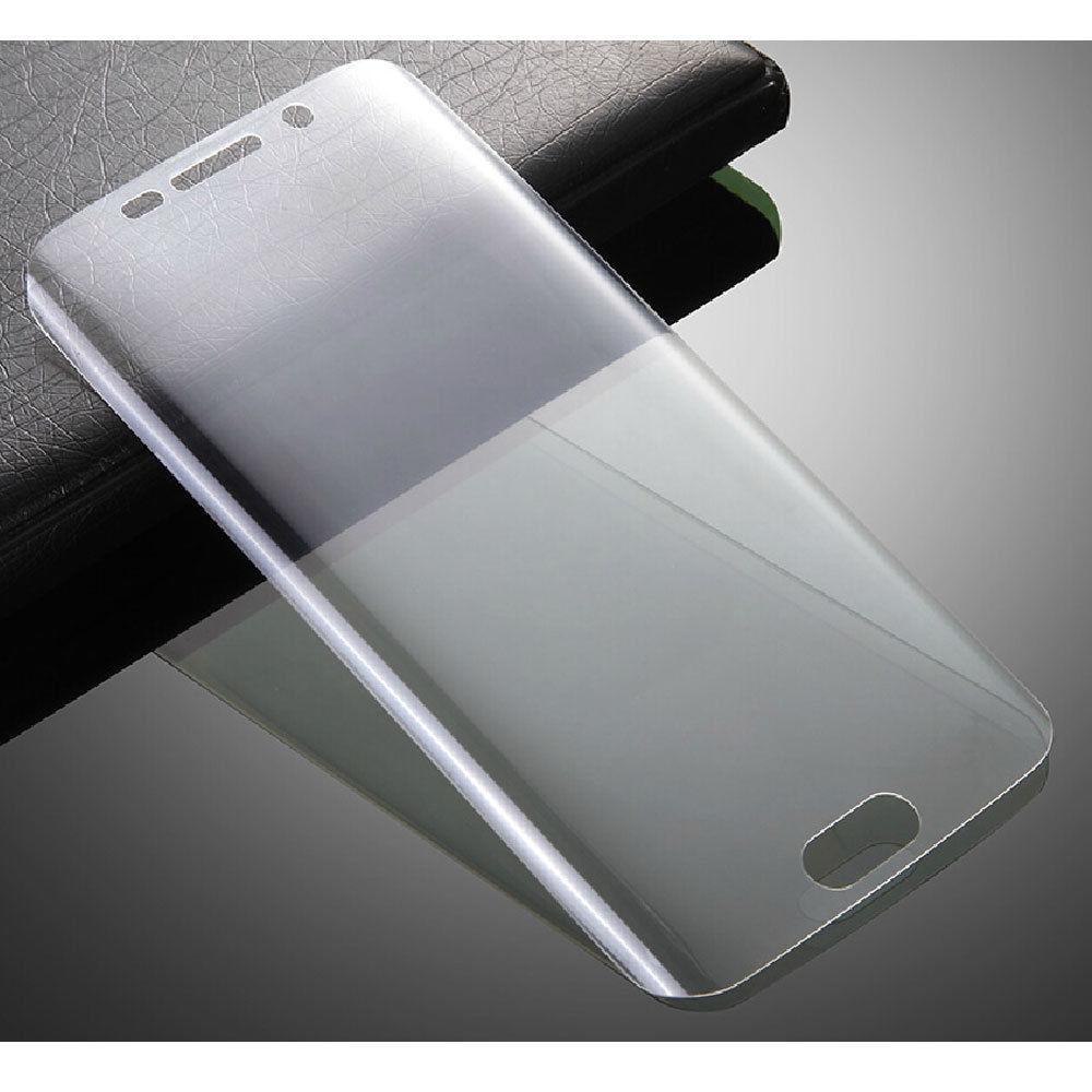 3D tvrzené sklo 9H - Galaxy S6 Edge (čiré)