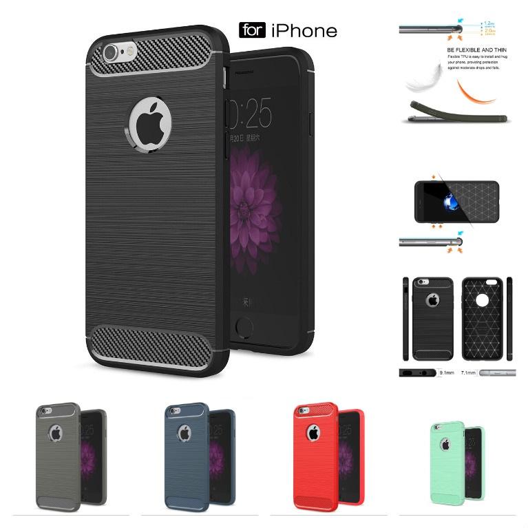 Stylový obal / kryt Carbon Armor pro iPhone 6s Plus / 6 Plus