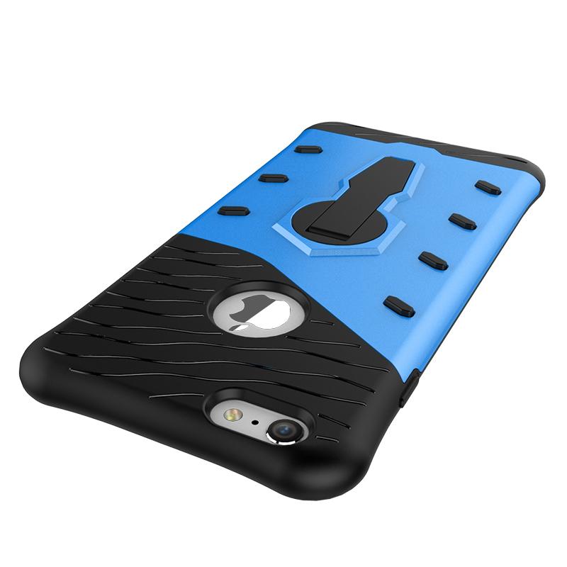 Velmi odolný kryt SNIPER se stojánkem pro Apple iPhone 6s/6 - Modrý