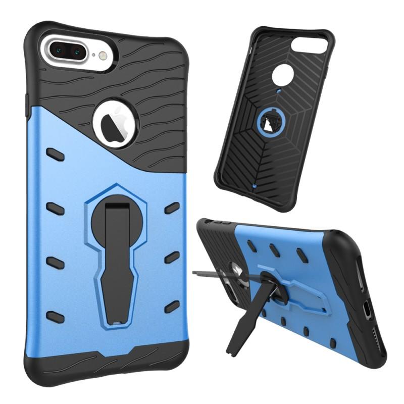 Velmi odolný kryt SNIPER se stojánkem pro Apple iPhone 7 Plus - Modrý