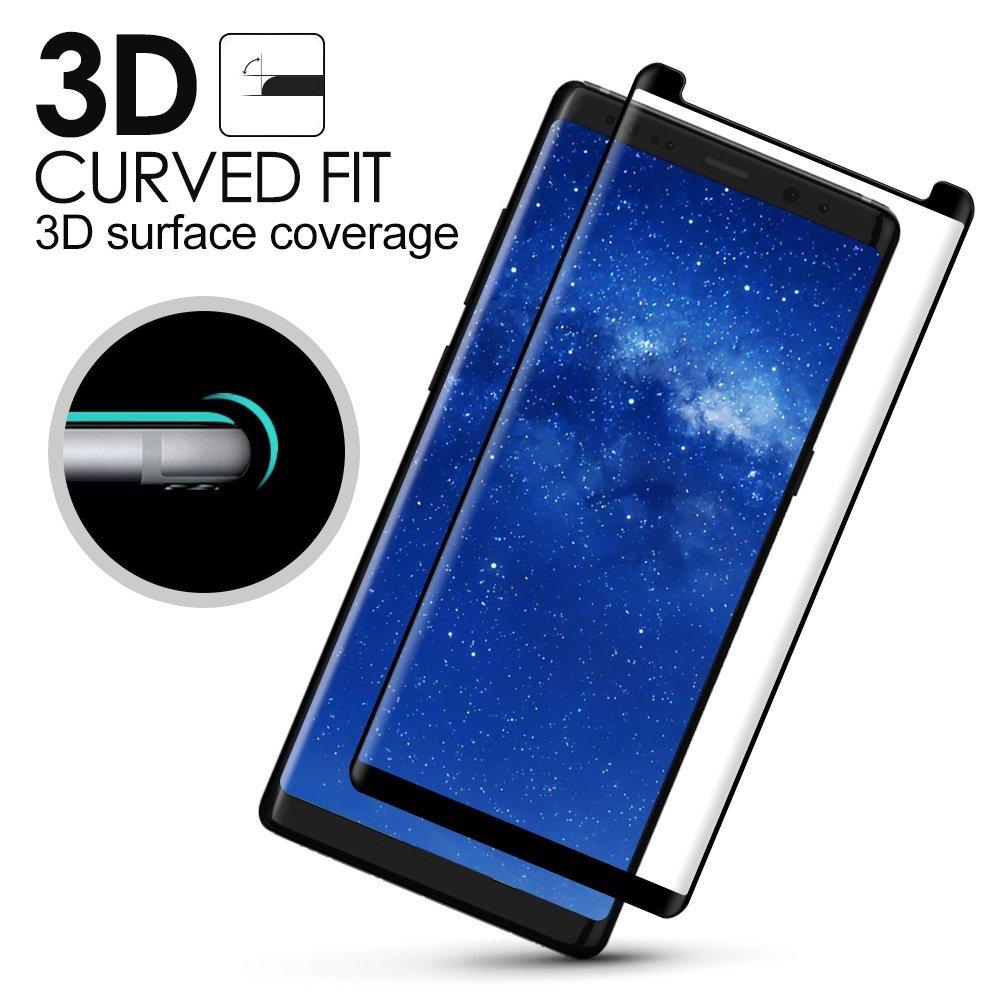 3D Ochranné sklo CASE FRIENDLY na celý displej pro Samsung Galaxy Note8