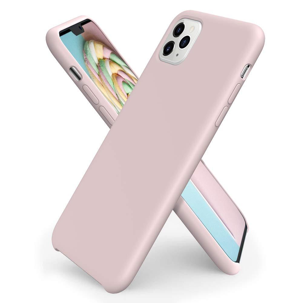Pouzdro iMore Silicone Case iPhone 11 Pro - Pískově růžový