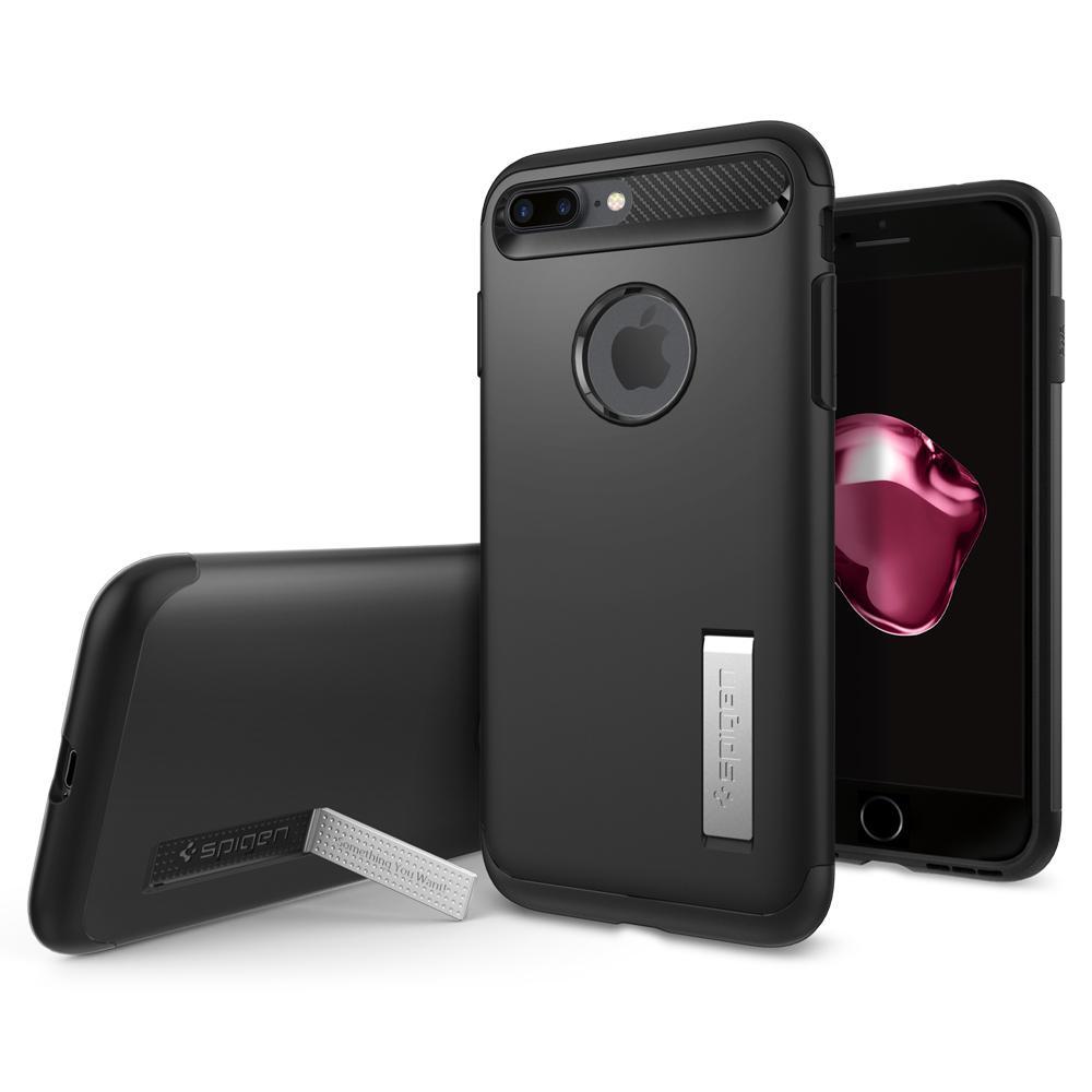 Ochranný kryt SPIGEN Slim Armor pro Apple iPhone 8 Plus / 7 Plus - Black