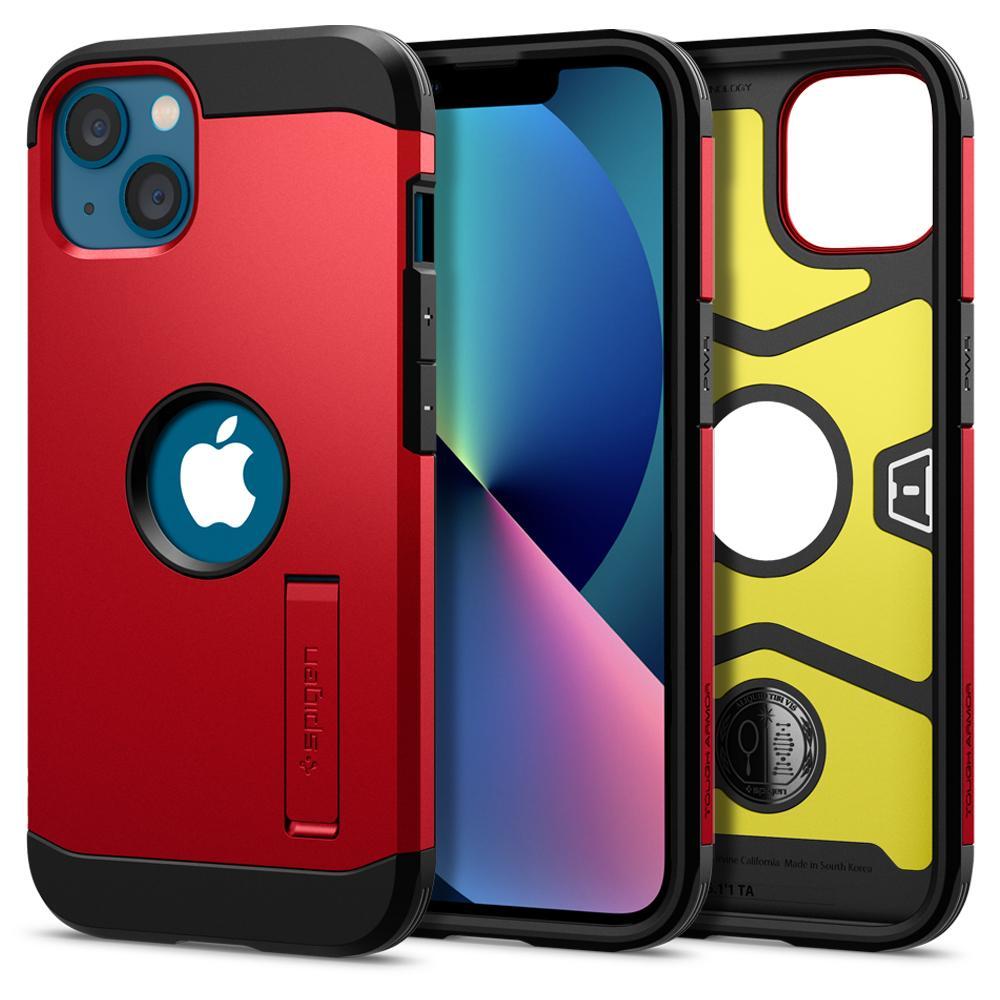 Pouzdro Spigen Tough Armor iPhone 13 - Red