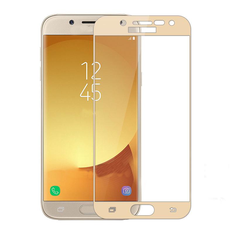 Prémiové ochranné sklo 5D Magic Glass Full Glue na Galaxy J5 2017 - Zlaté