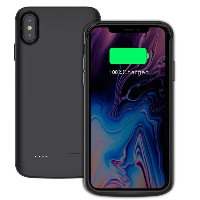 Pouzdro Tech-Protect Battery Pack 6000mAh na iPhone XS MAX