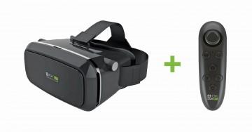 3D Brýle pro virtuální realitu 4-OK VR Glasses + Bluetooth ovladač 4-OK VR Controller
