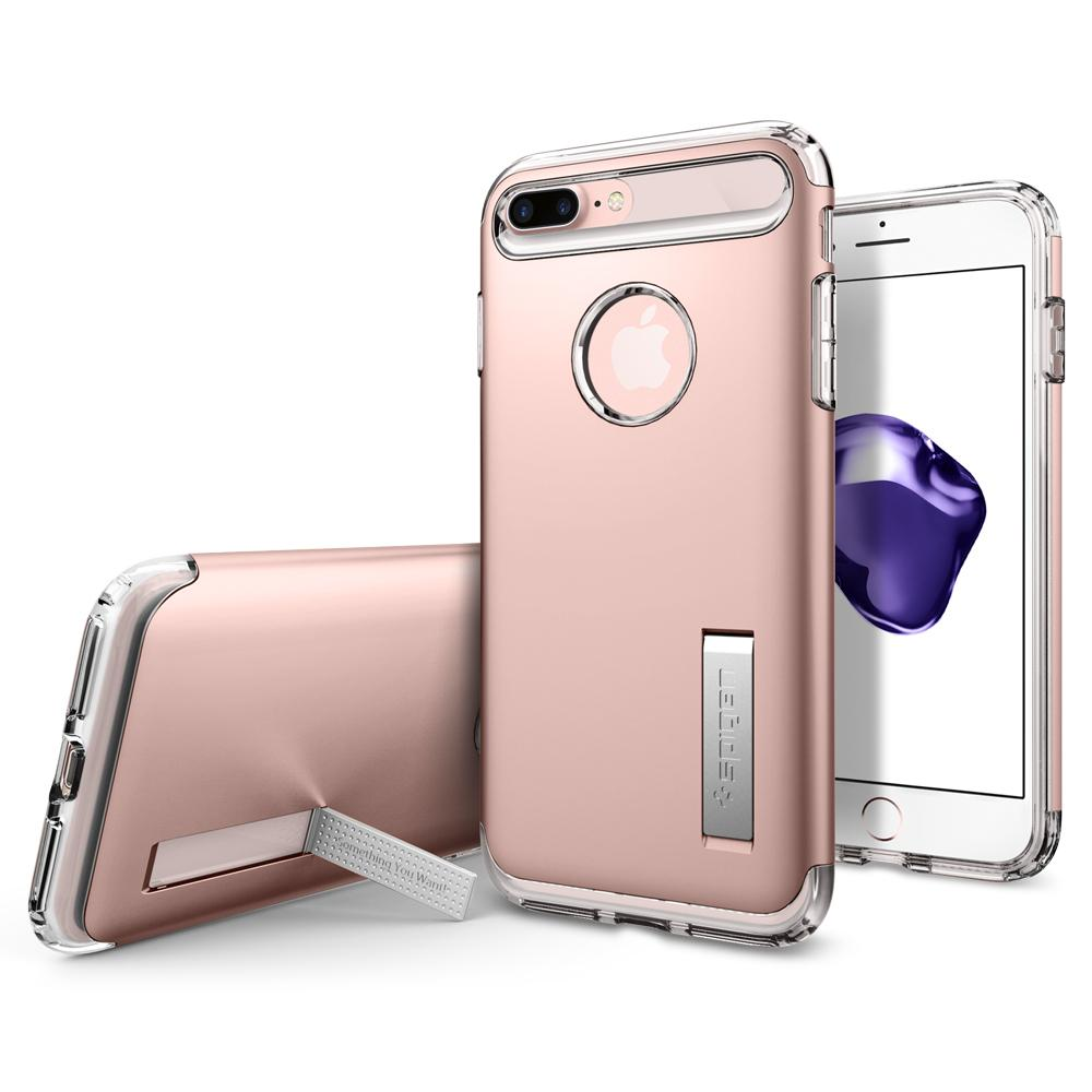 Ochranný kryt SPIGEN Slim Armor pro Apple iPhone 8 Plus / 7 Plus - Rose Gold