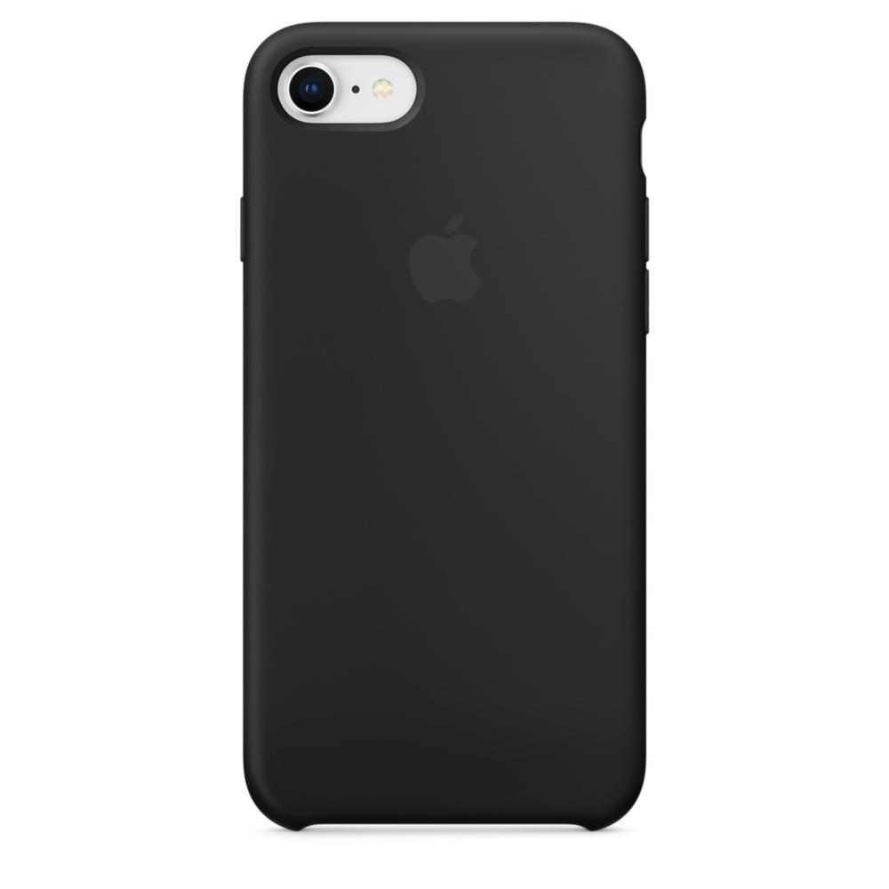 Pouzdro Apple iPhone 7/8 Silicone Case černé