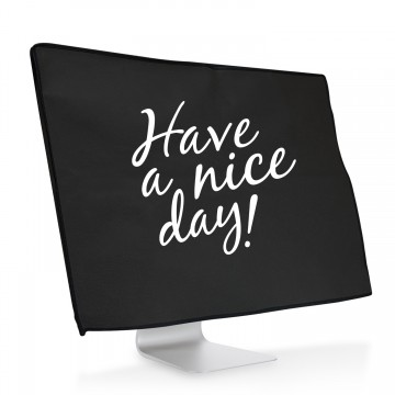 Ochranný návlek Have a nice day! na iMac 21,5