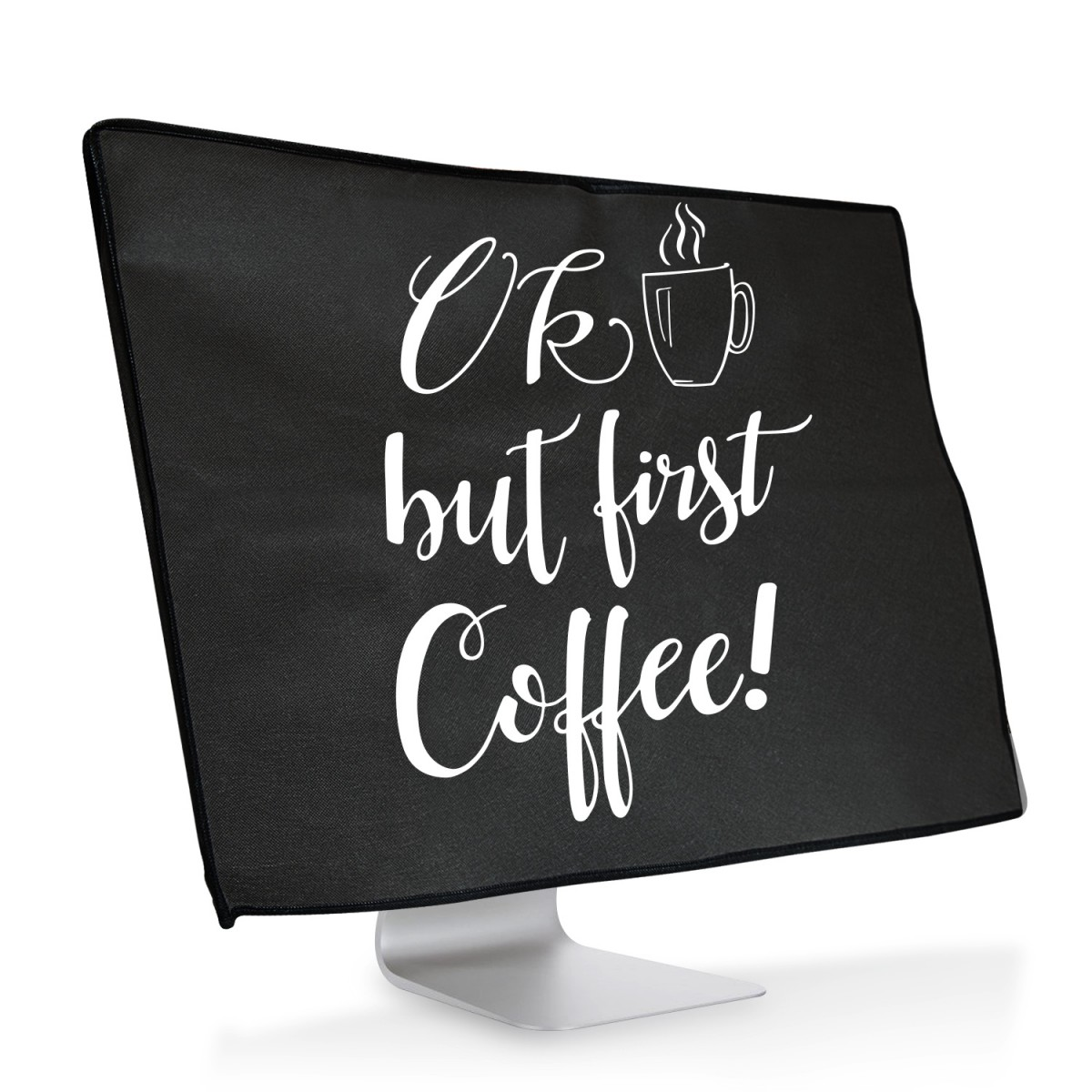 Ochranný návlek OK but first coffee! na iMac 21,5""