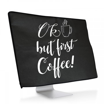 Ochranný návlek OK but first coffee! na iMac 21,5