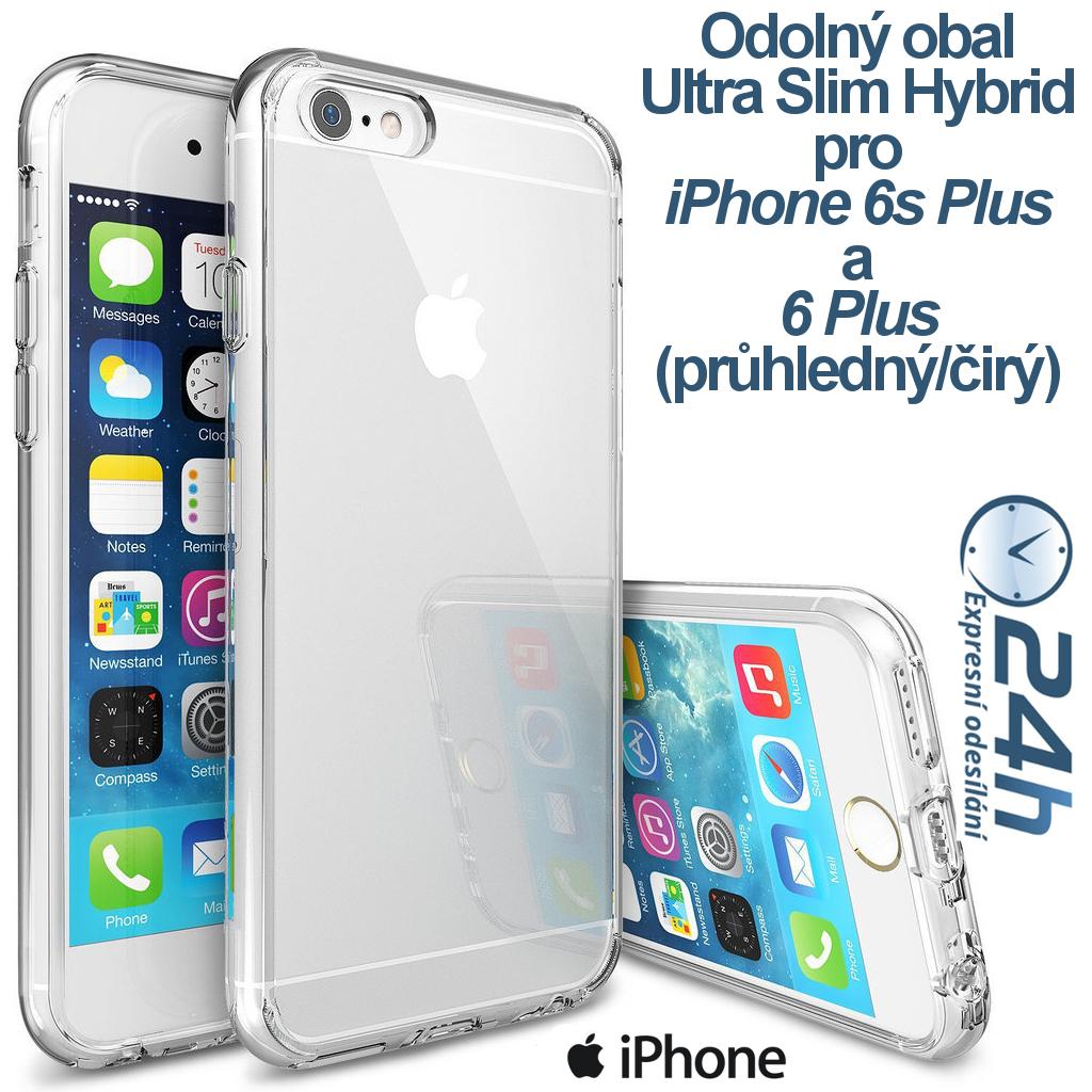 Průhledný čirý obal / kryt na iPhone 6s Plus / 6 Plus