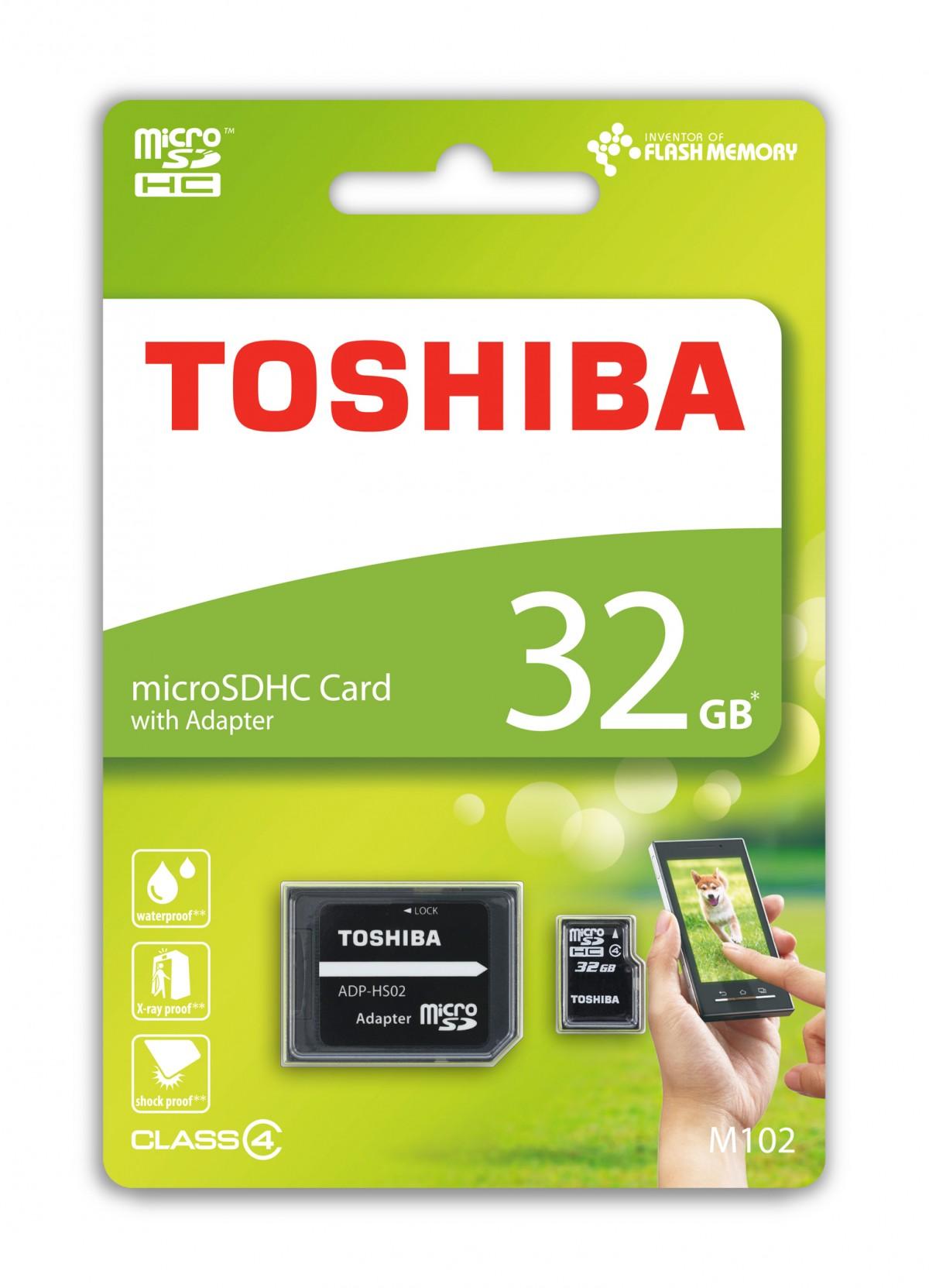 Toshiba microSDHC 8GB Class 4 SDU8GSDHC4M102M