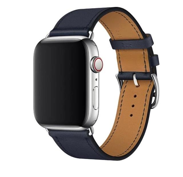 Řemínek Single Tour pro Apple Watch Series 3/2/1 (38mm) - Půlnočně modrý