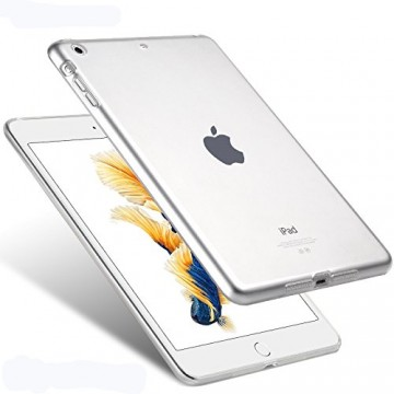 Silikonový průhledný obal / kryt na Apple iPad Air (čirý)