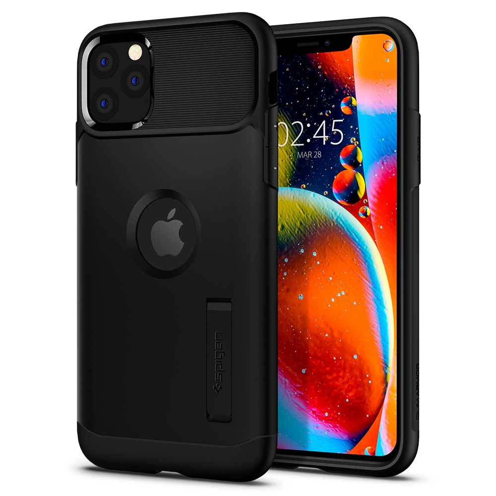Pouzdro Spigen Slim Armor Apple iPhone 11 Pro Max - Black