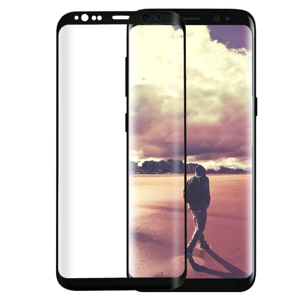 3D Tvrzené sklo 9H na celý displej pro Galaxy S8 Plus (S8+) - Černé (black)