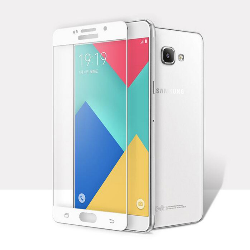 Swissten Samsung Galaxy A5 (2016) ochranné tvrzené sklo 3D zaoblené, bílé 64701732