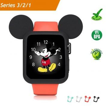 Silikonový obal Cartoon Mickey Apple Watch 38mm Series 1, 2, 3