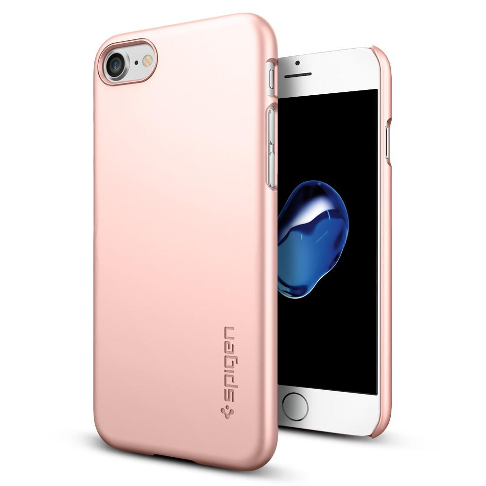 Pouzdro Spigen Apple iPhone 7/8 Thin Fit Rose zlaté