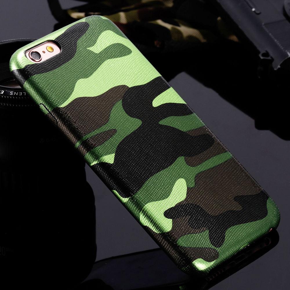 Pouzdro iMore Army Camouflage na iPhone 6s/6 - Zelené