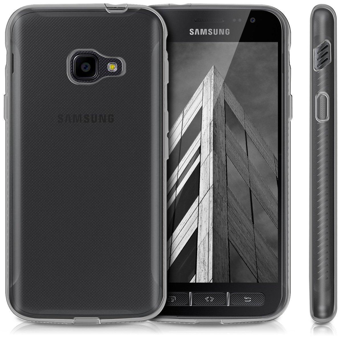 Pouzdro Mercury Samsung Xcover 4 silikon čiré