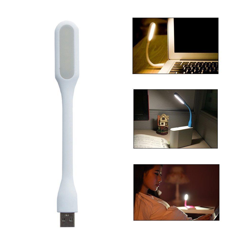 USB LED lampička .blun - Bílá