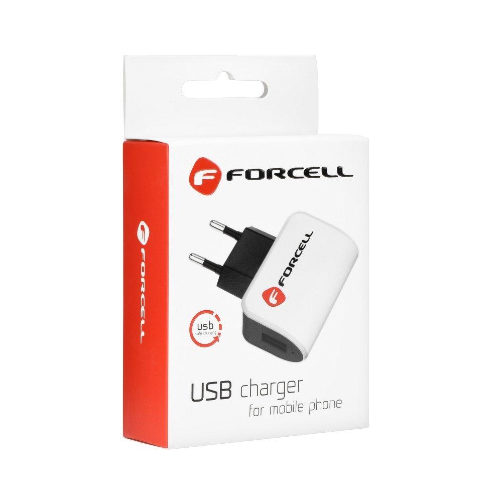 Nabíjecí sada Forcell: Nabíječka + Micro USB kabel (5V / 1A) pro Samsung Galaxy, Huawei, Lenovo, HTC, Asus a další