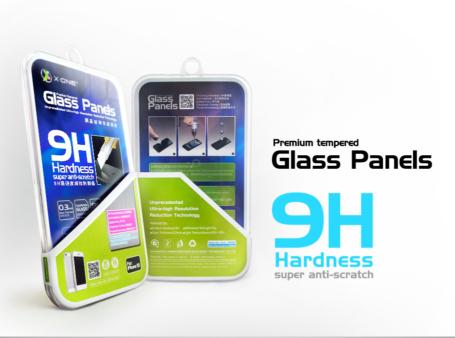 Tvrzené sklo X-ONE Glass Panels 9H Apple iPhone 8 Plus / 7 Plus