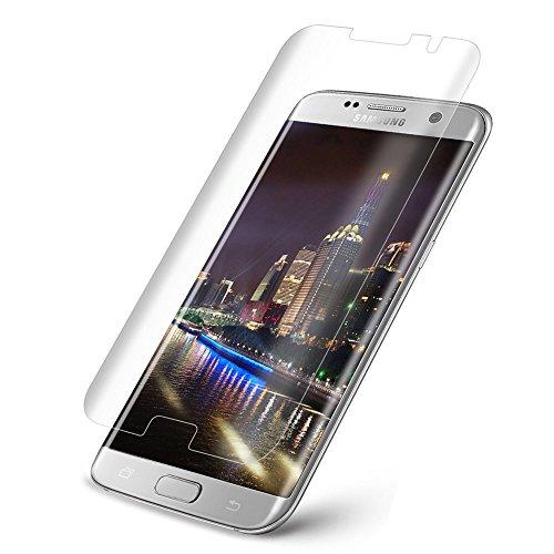 3D Ochranné sklo CASE FRIENDLY na celý displej pro Galaxy S7 Edge - Čiré / Transaprentní